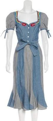 Olympia Le-Tan 2017 Embellished Dr. Amnesia Dress w/ Tags