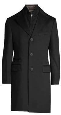 Corneliani ID Wool Top Coat