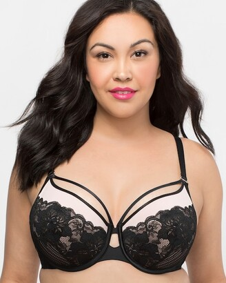 Couture Curvy Tulip Strappy Lace Push Up