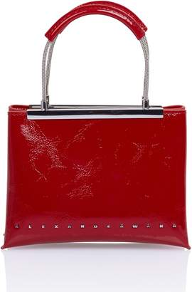 Alexander Wang Dime Red Patent Satchel