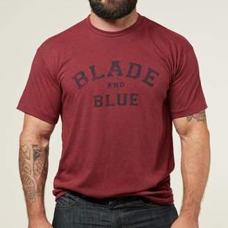 Blade + Blue Burgundy Heather Tee