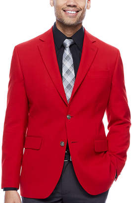 STAFFORD Stafford Hopsack Classic-Fit Sportcoat
