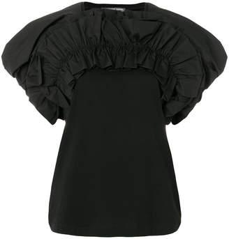 Alexander McQueen ruffle detail blouse