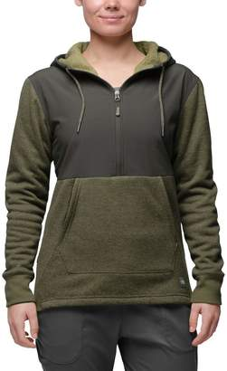 The North Face Tech Sherpa Hooded Fleece Pullover - Women's