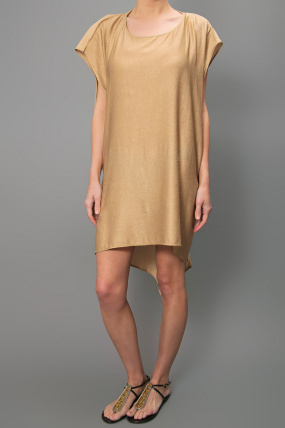 Kimberly Ovitz Riku Dress Gold