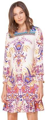 Hale Bob Gemma Jersey Flounce Dress