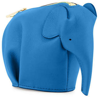 Loewe Elephant Leather Coin Case