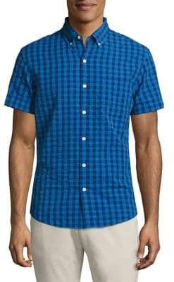 Bonobos Short Sleeve Seersucker Shirt