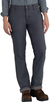 Carhartt Original Fit Fleece Lined Crawford Pant - Women's