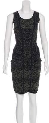 Diane von Furstenberg Printed Cairo Bodycon Dress w/ Tags