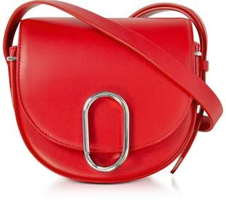 3.1 Phillip Lim Alix Scarlet Leather Mini Saddle Crossbody Bag