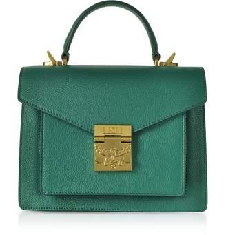 MCM Patricia Park Avenue Small Satchel Bag