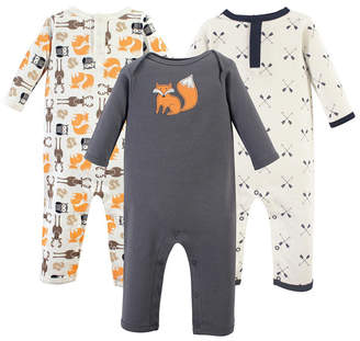 Baby Vision Hudson Baby Union Suits/Coveralls, 3-Pack, 0-24 Months