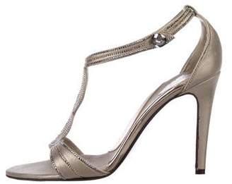 Azzaro Embellished Leather Sandals