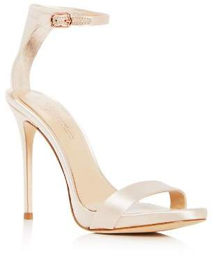 Vince Camuto Imagine Women's Dacia Satin Ankle Strap High-Heel Sandals