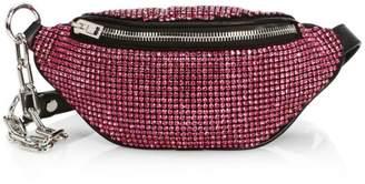 Alexander Wang Mini Attica Embellished Belt Bag