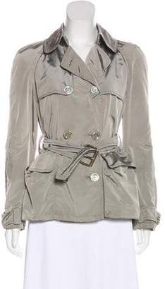 Burberry Double-Breasted Belted Jacket