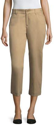 ST. JOHN'S BAY Secretly Slender Twill Capri Pant - Tall Inseam 20