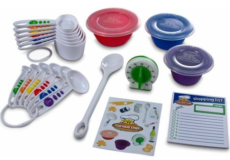 Curious Chef CURIOUS CHEF 17 PIECE MEASURE AND PREP KIT