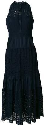 Temperley London Lunar lace-detail midi dress