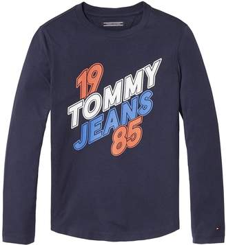 Tommy Hilfiger TH Kids Long Sleeve Signature Tee