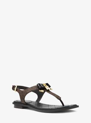 MICHAEL Michael Kors Alice Logo Sandal