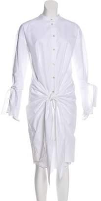 Ji Oh Paneled Shirt Dress w/ Tags
