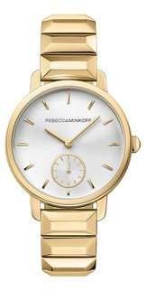 Rebecca Minkoff BFFL Gold Tone Bracelet Watch, 36MM