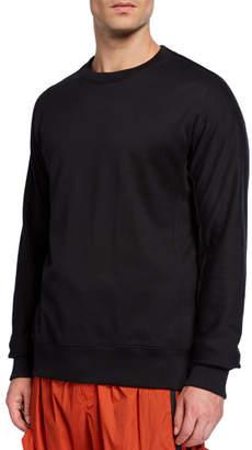 Y-3 Men's Classic Crewneck Cotton Sweater