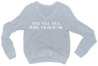 Wildfox Couture Women's Yep Sweatshirt - Ribbon - S