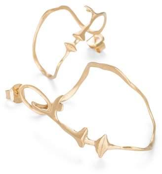 Bjorg Jewellery The Dancer Gold Earpieces
