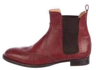Hermes Brighton Brogue Ankle Boots