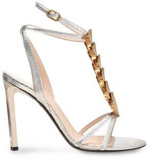 Roberto Cavalli Embellished Ayers Sandals