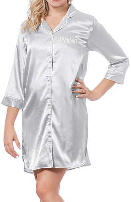 Cathy's Concepts CATHYS CONCEPTS Personalized Satin Night Shirt