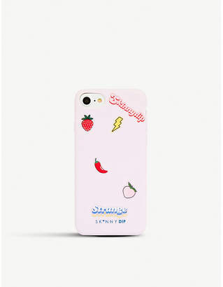 Skinnydip Lavender stickers phone case