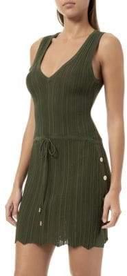 Melissa Odabash Arianna Knit Mini Dress