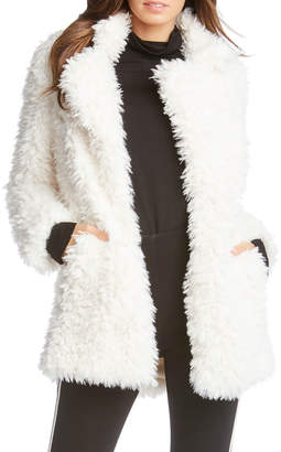 Fifteen-Twenty Fifteen Twenty Winter White Faux Fur Jacket