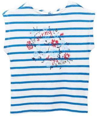 Nautica Sunny Days Striped Top (Toddler Girls)