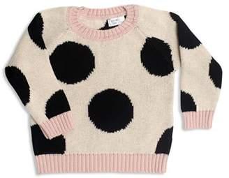 Tun Tun Girls' Knit Polka-Dot Sweater - Baby