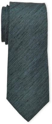 Vince Camuto Linen & Silk Colonna Solid Tie