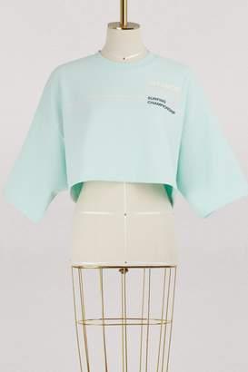 FENTY PUMA by Rihanna Crew neck cropped T-shirt