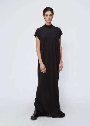 Rick Owens D RK SH D W Short Sleeve Jumbo Top Gown
