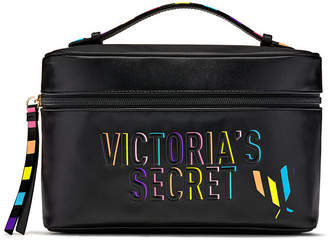 Victoria's Secret Victorias Secret Rainbow Weekender Train Case