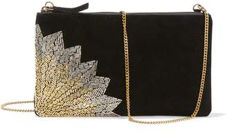 Black Clutch Handbag With Chain Strap - ShopStyle UK 7be84f7372