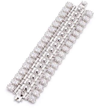 Eddie Borgo Crystal Dome Cuff Bracelet
