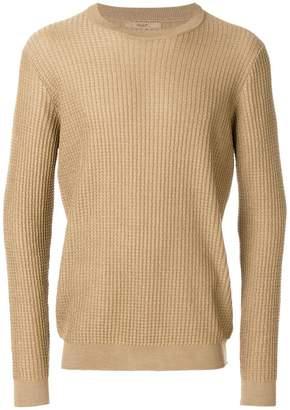Nuur textured crew neck sweater