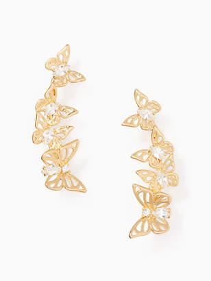 Kate Spade Social butterfly ear pins