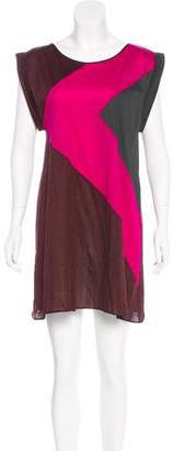 Eres Colorblock Mini Dress w/ Tags