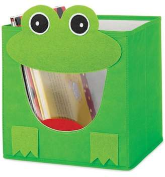 Whitmor 6256-4925-FROG Green Frog Collapsible Storage Cube