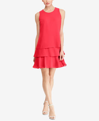 American Living Tiered Georgette Dress